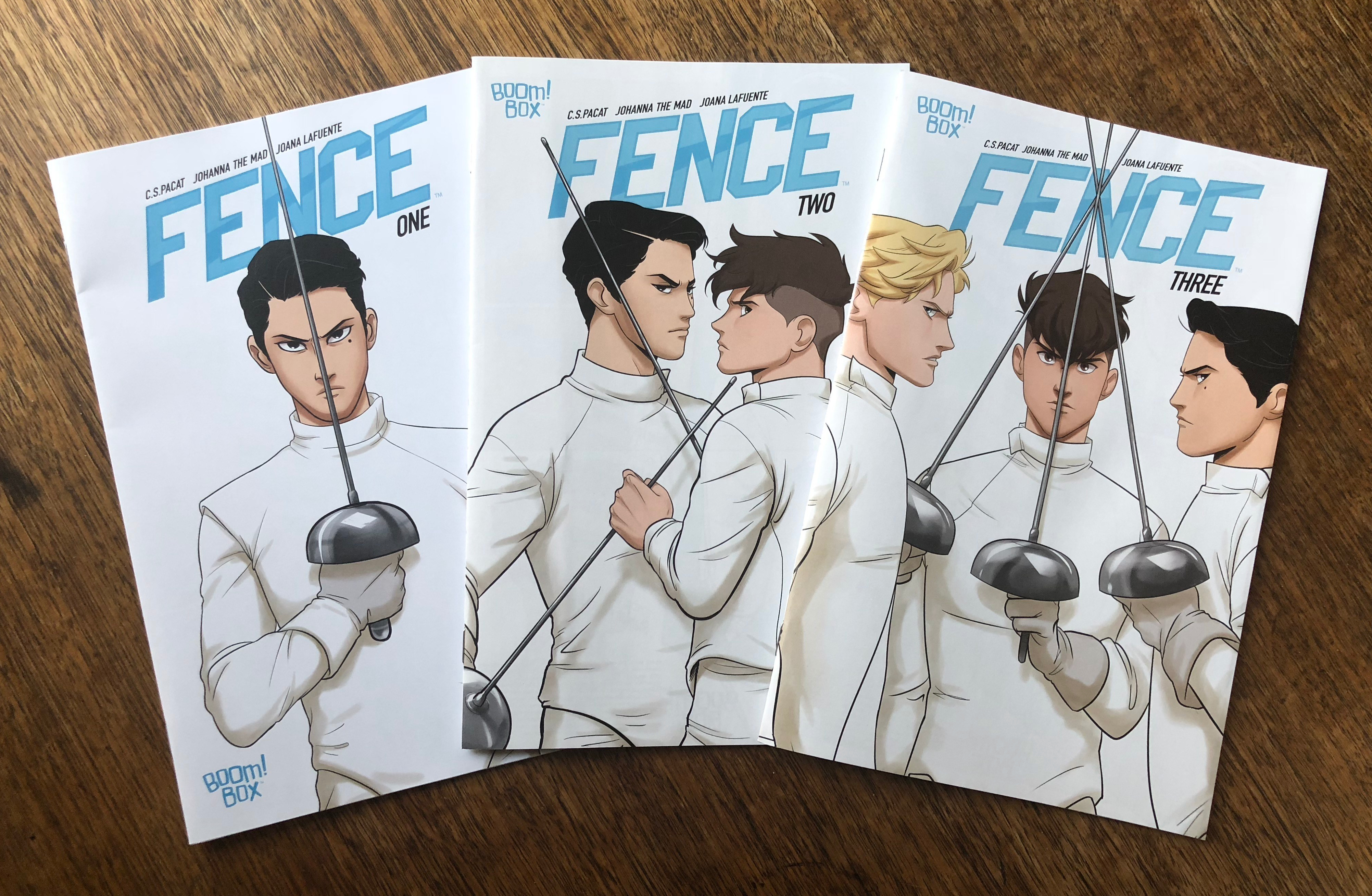 Fence comic issues 1-3
