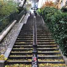 Stairs to the Sacré-Cœur