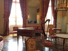 Marie Antoinette's drawing room at Le Petit Triannon