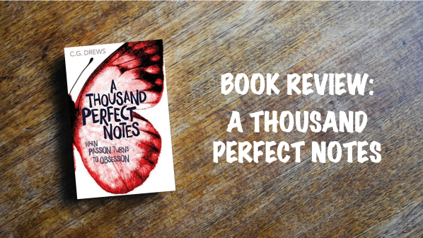 Book Review Banner: A Thousand Perfect Notes