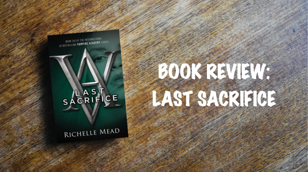 Book review banner: Last Sacrifice
