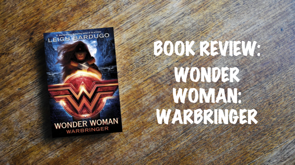 Book Review Banner: Wonder Woman Warbringer