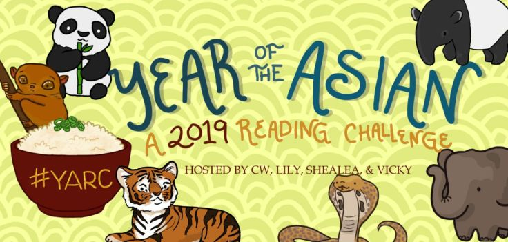 Banner for Year of the Asian reading Challenge