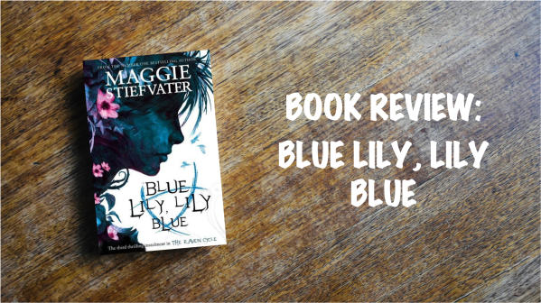 Book Review Banner: Blue Lily, Lily Blue