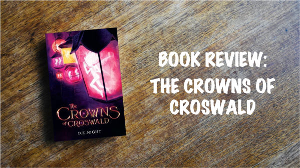Book Review Banner: The Crowns of Croswald
