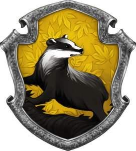 Hufflepuff house animal, the badger