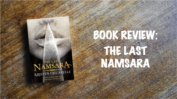 Book review banner: The Last Namsara