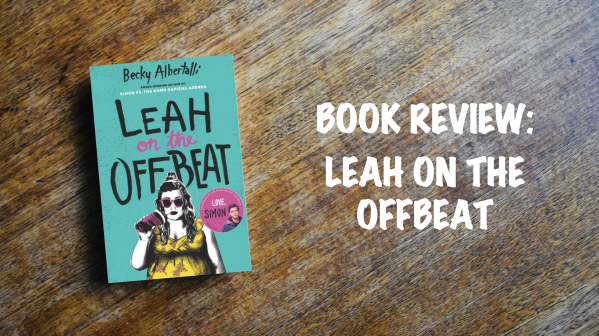 Book review banner: Leah on the off beat