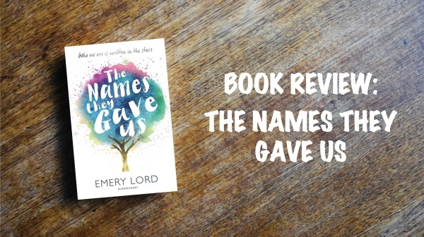 Book review banner: The Names They Gave Us