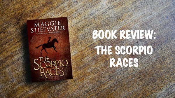 Book review banner: The Scorpio Races