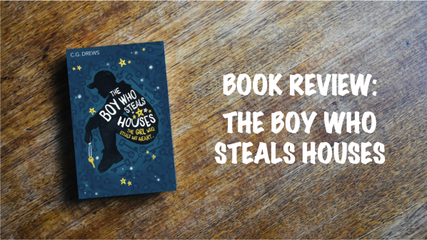 Book Review Banner: The Boy Who Steals Houses