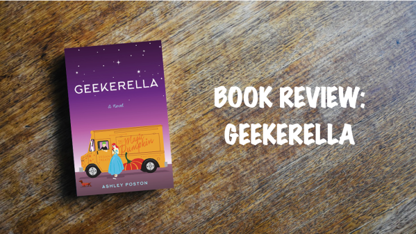 Book review banner: Geekerella