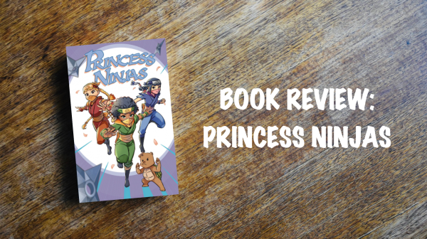 Book review banner: Princess Ninjas