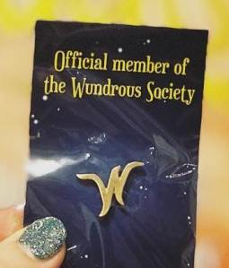 Wundrous Society pin