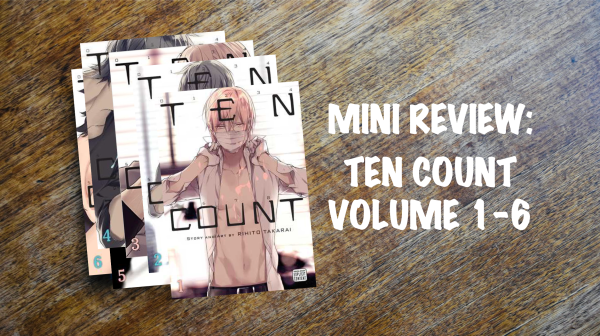 Mini book review banner: Ten Count Volumes 1 to 6