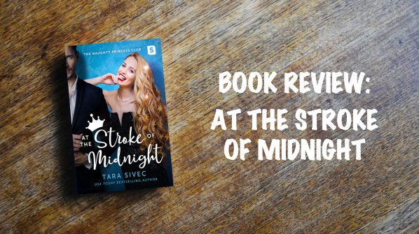 Book review banner: At the Stroke of Midnight