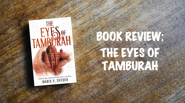 Book review banner: The Eyes of Tamburah
