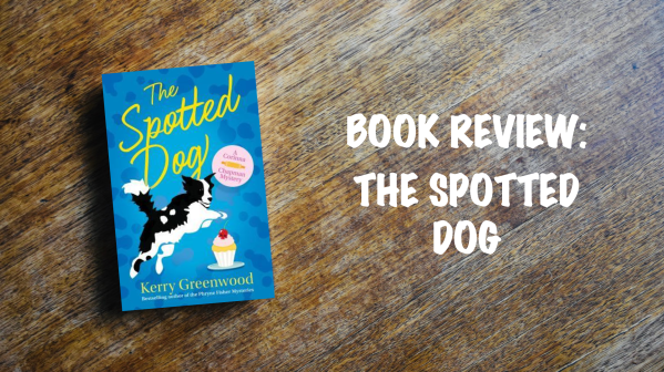 Book Review Banner: The Spotted Dog