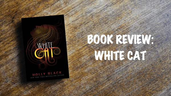 Book review banner: White Cat