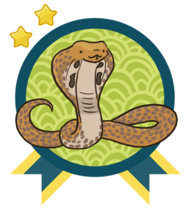 YARC Badge: Read 11-20 books and get the Cobra