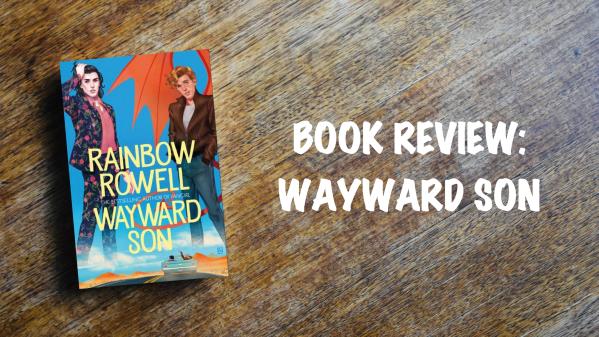 Book review banner: Wayward Son