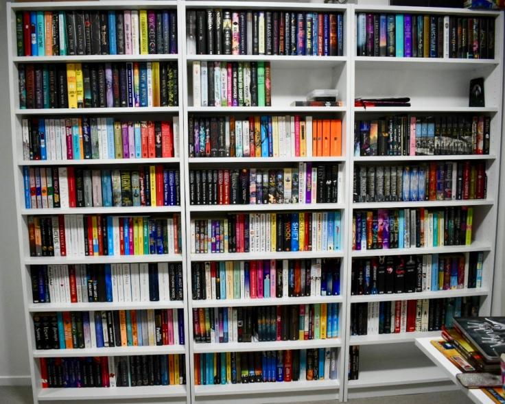 A-Z shelves circa November 2019
