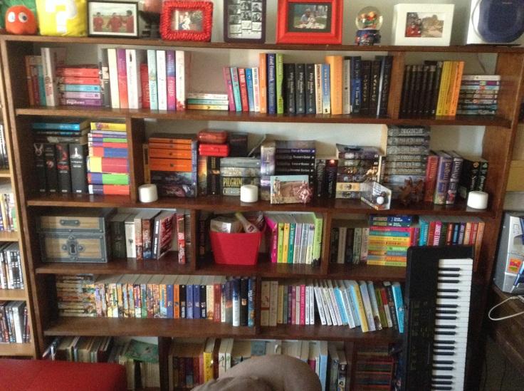 Bookshelf circa 2013