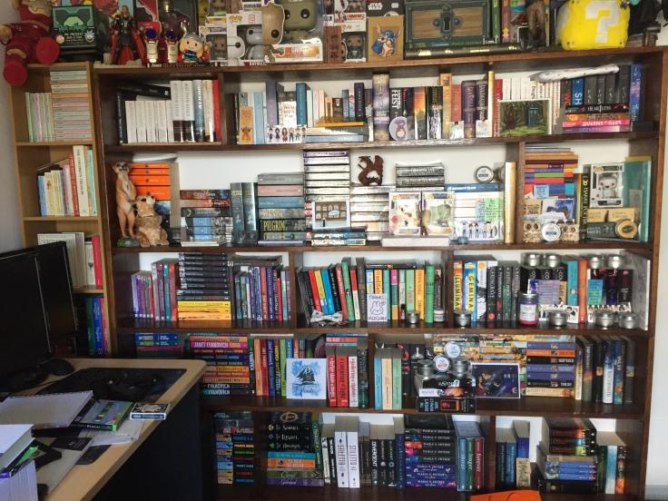 Bookshelf circa 2017
