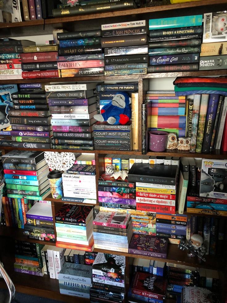 Bookshelf circa May 2018