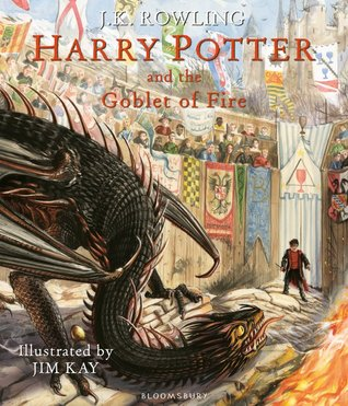 Harry Potter and the Goblet of Fire (illustrated edition)