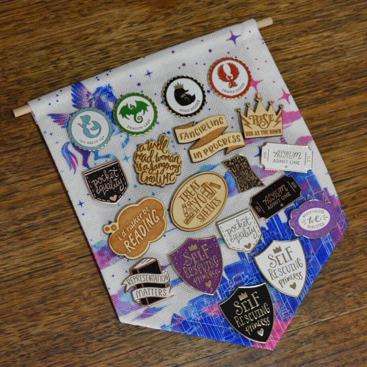 Pins from Kit Cronk Studio