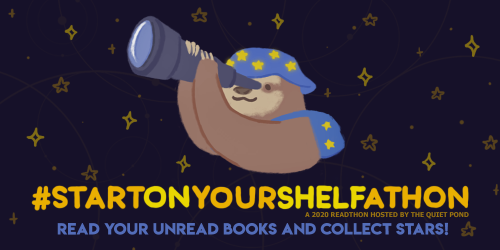 Start on your shelfathon banner